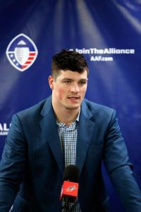 Christian Hackenberg at Alliance of American Football.
