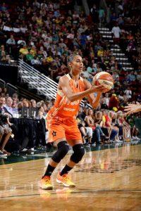 Skylar during WNBA All Star 2017