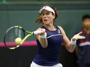 Johanna Konta at Fed Cup.