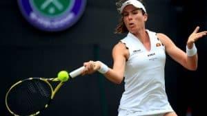 Johanna Konta at Wimbledon.