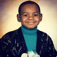LeBron James as a Child
