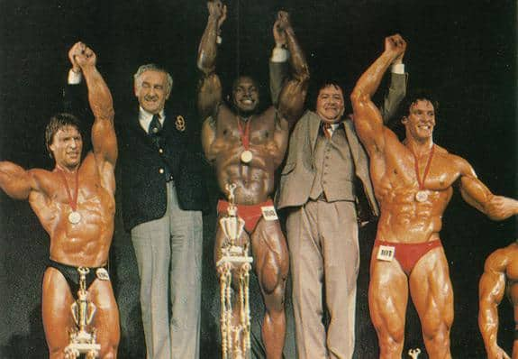 Lee Haney's Victory