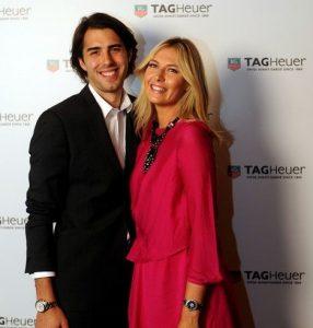 Maria-Sharapova-with-Sasha-Vujacic