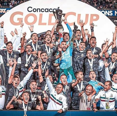 Mexico wins the CONCACAF