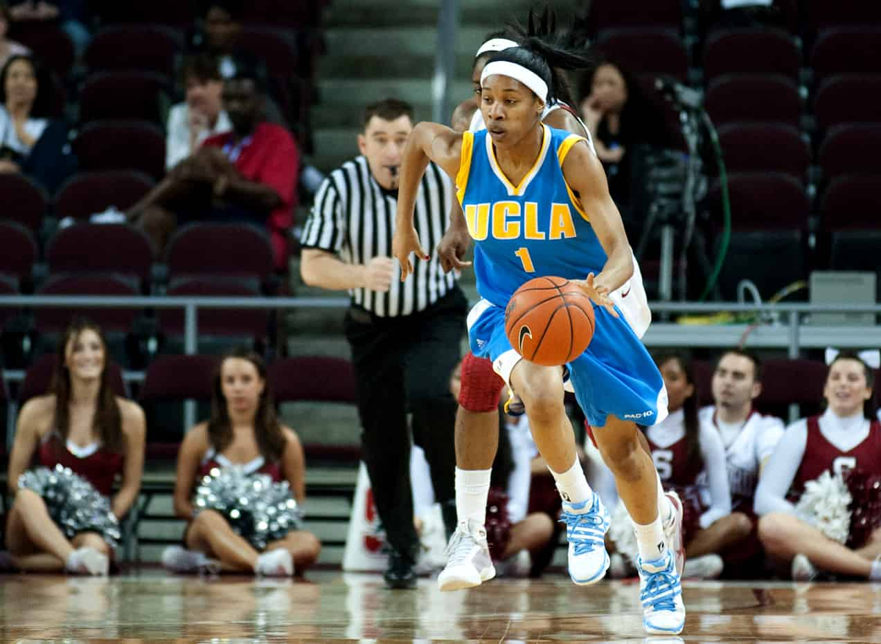 Nina Earl Playing for UCLA