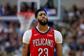 Anthony Davis with the Peclians