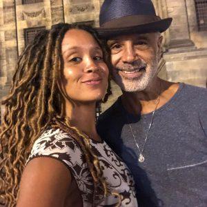 Rick with his daughter Sasha