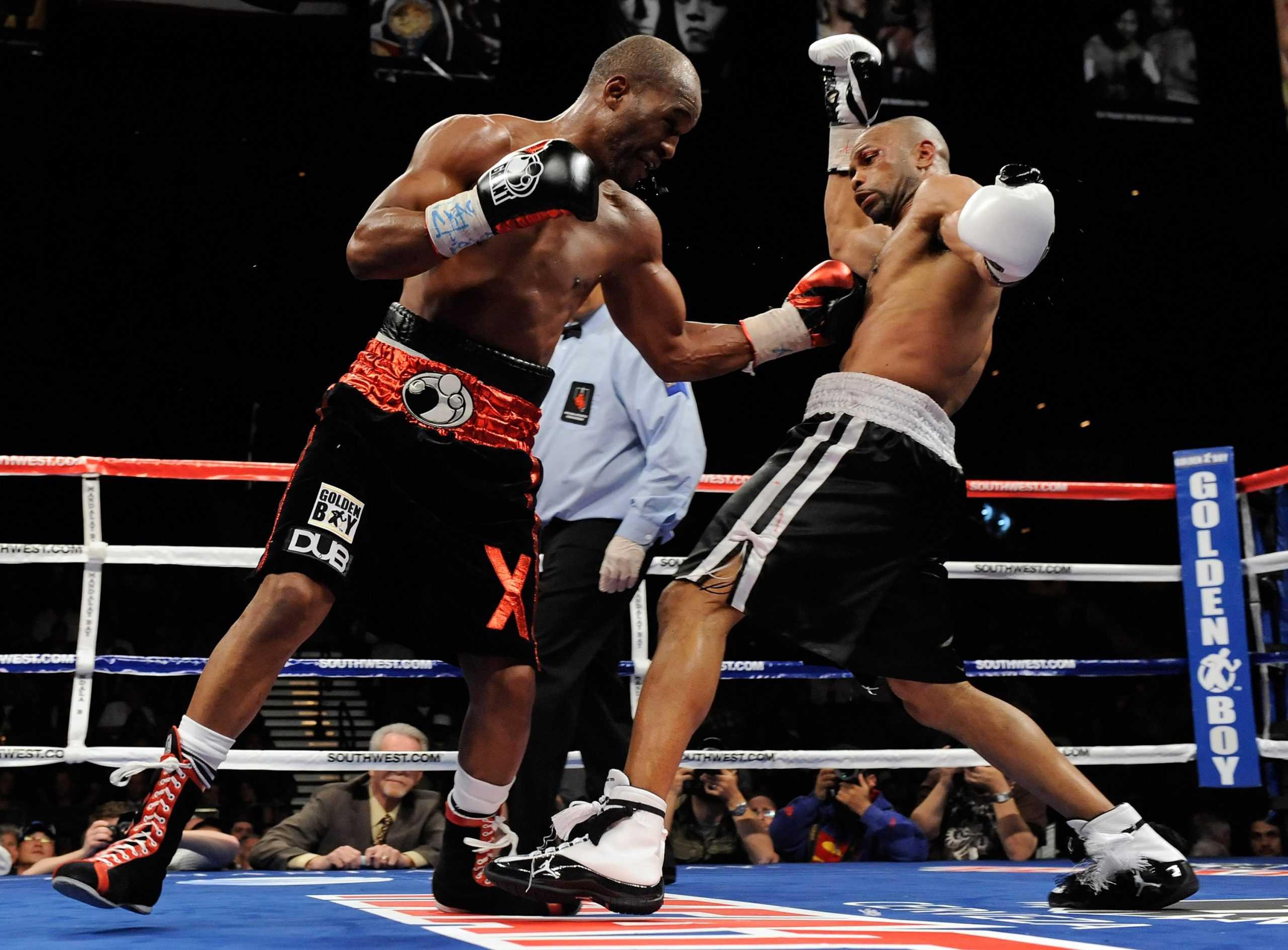 Roy Jones Jr. inside the ring