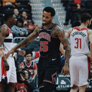 Walt Lemon Jr. for the Chicago Bulls Picture: Instagram