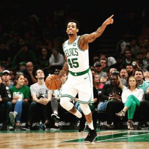 Lemon for Boston Celtics. Picture: Instagram