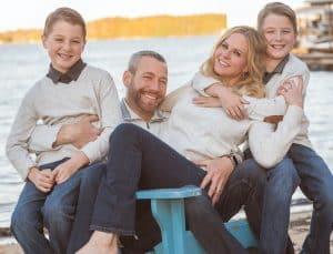Shannon Spake family