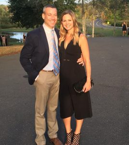 Shannon Spake with her husband