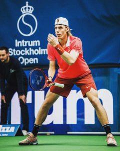 Shapovalov in Tennis Tournament