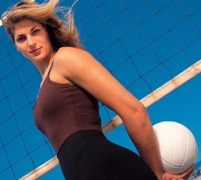 Volleyball star, Gabrielle Reece