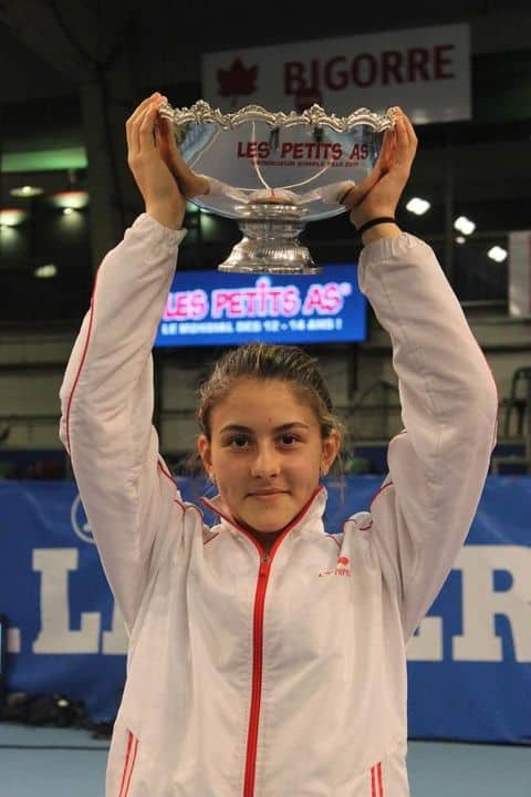 Young Bianca Andreescu