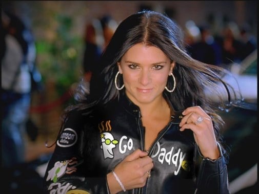 Danica featuring GoDaddy commercials