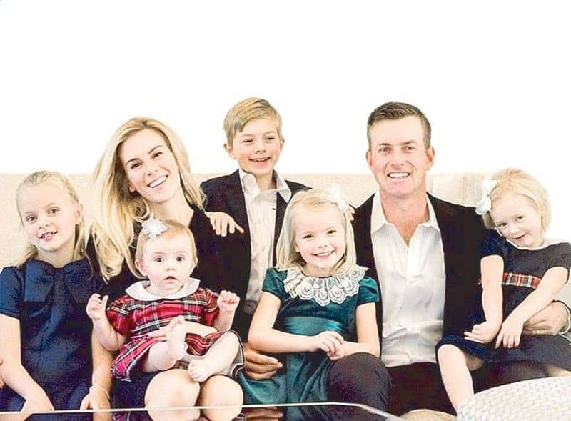 Taylor Dowd Simpson and her family.