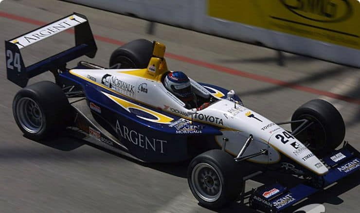Patrick in Toyota Atlantic Series