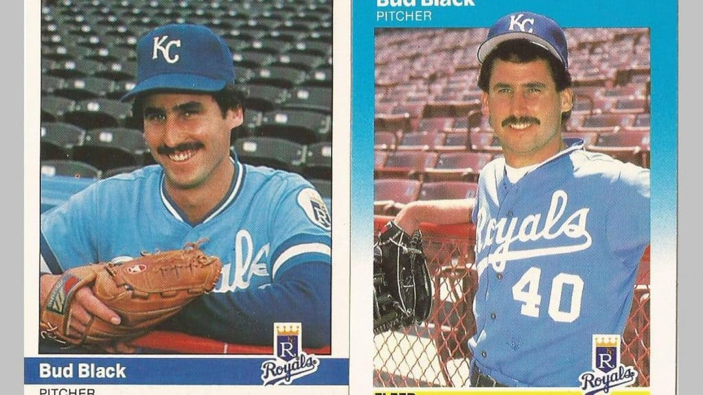 Bud Black at the beginning of his career.
