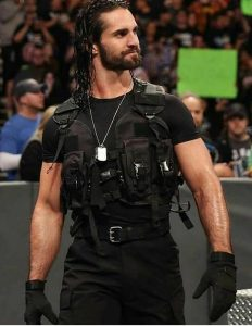 Seth Rollins ready to go in the ring.