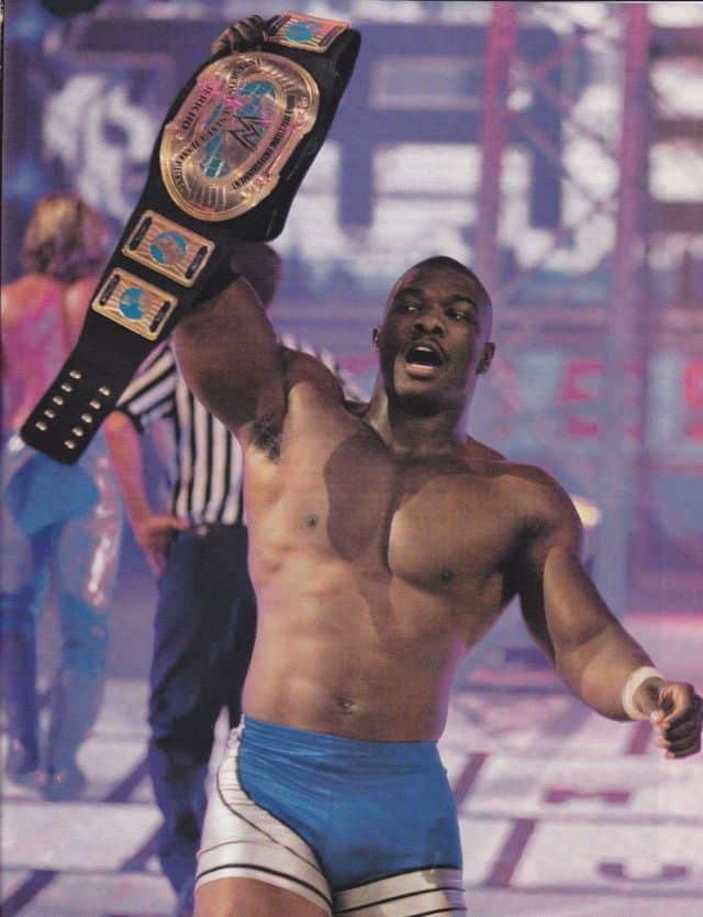 Benjamin as the Intercontinental Champion