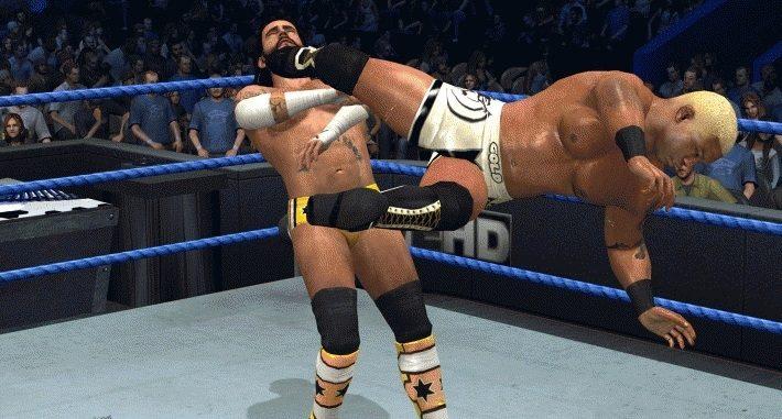 Benjamin's video game of WWE Smackdown vs. Raw 2011