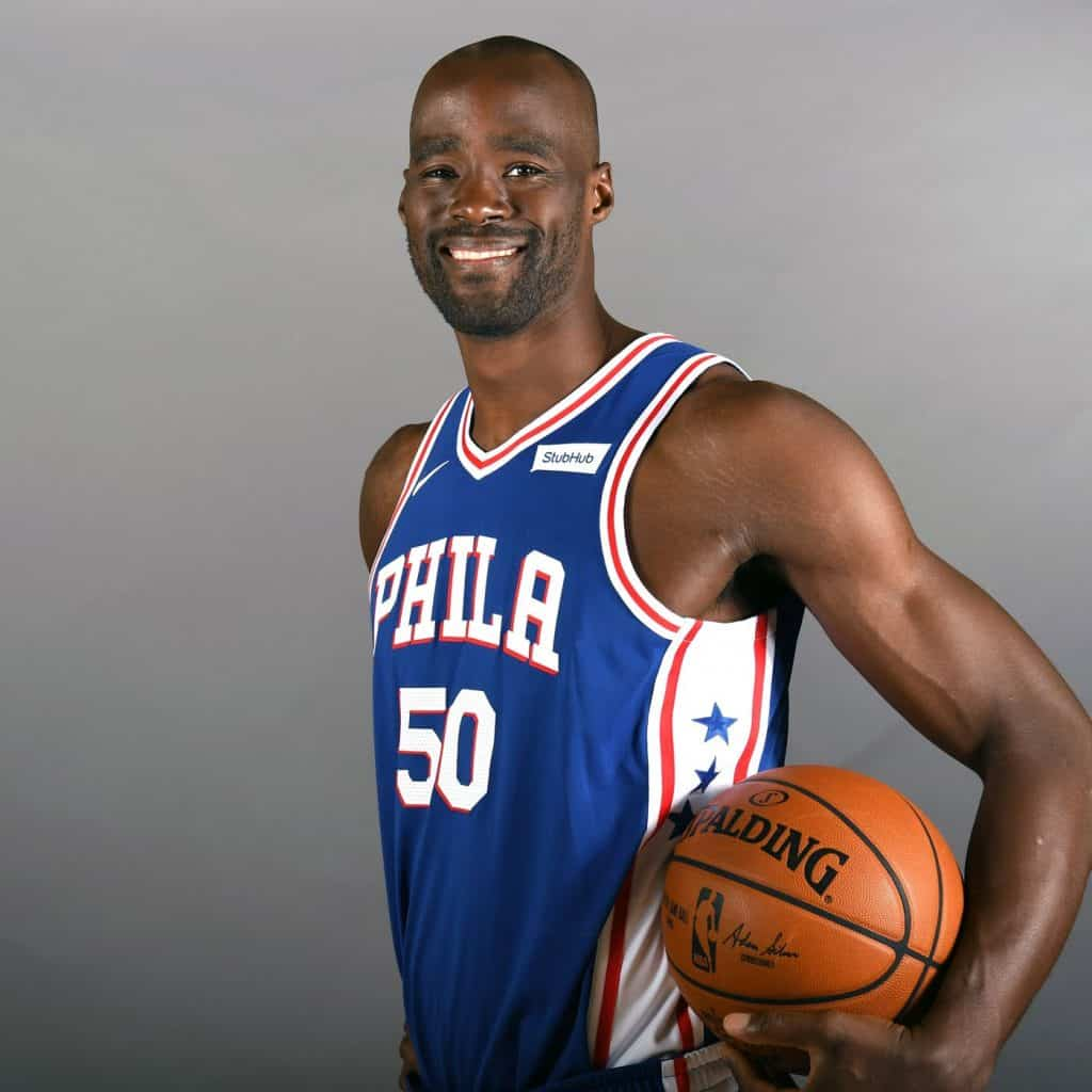 Emaka Okafor posing for the camera.