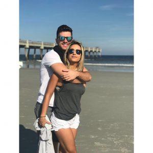 Cairo with his girlfriend Inara