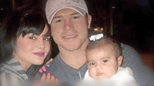 Canelo with daughter Mia