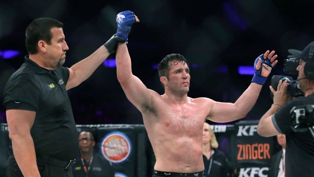 Chael Sonnen on his victory