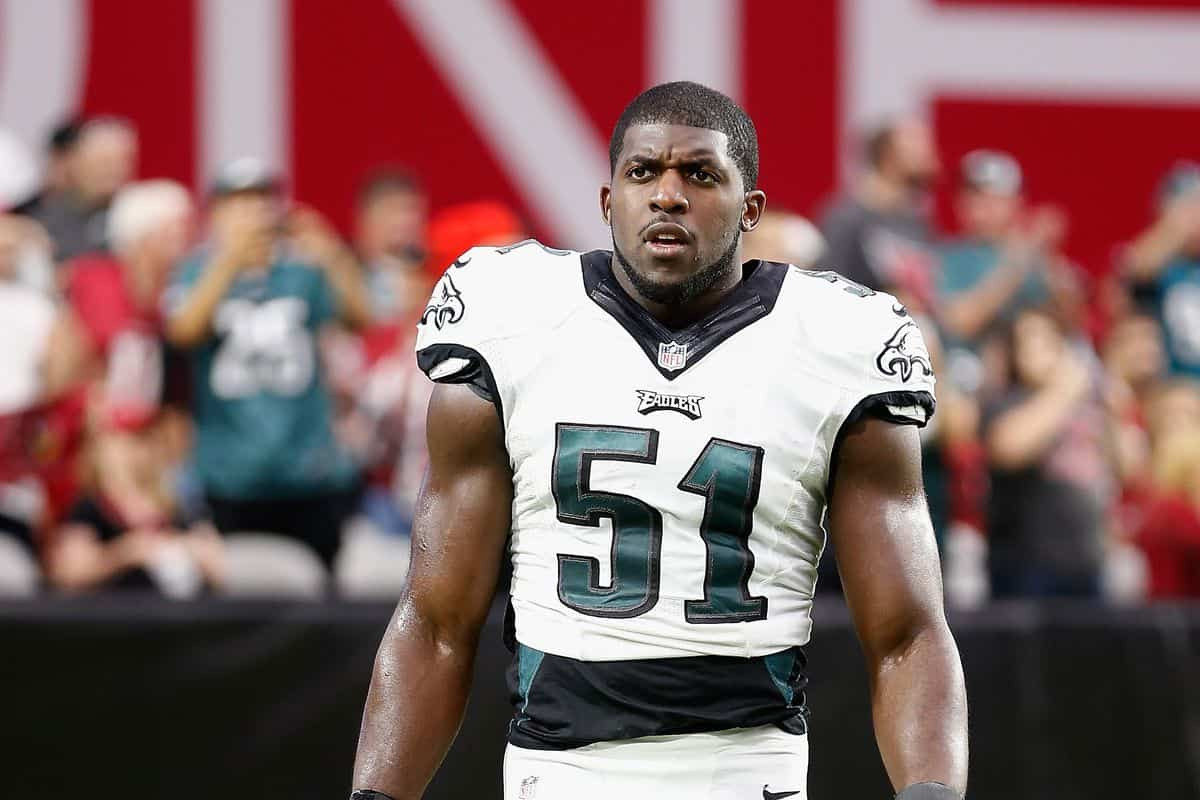 Emmanuel Acho Playing For Philadelphia Eagles