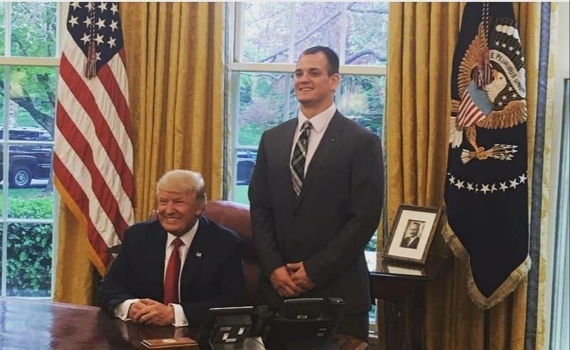 Glenn Gronkowski With President Trump