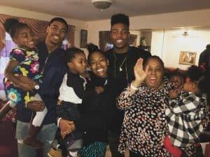 Harrison's family