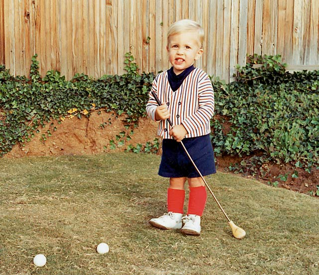 Mickelson's childhood