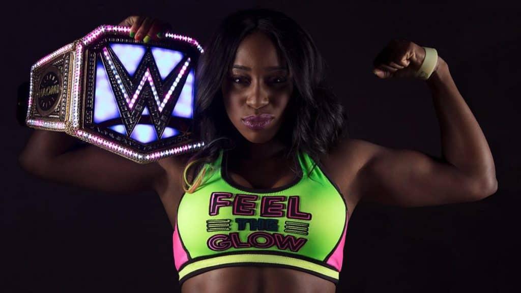 Naomi transforms her championship.