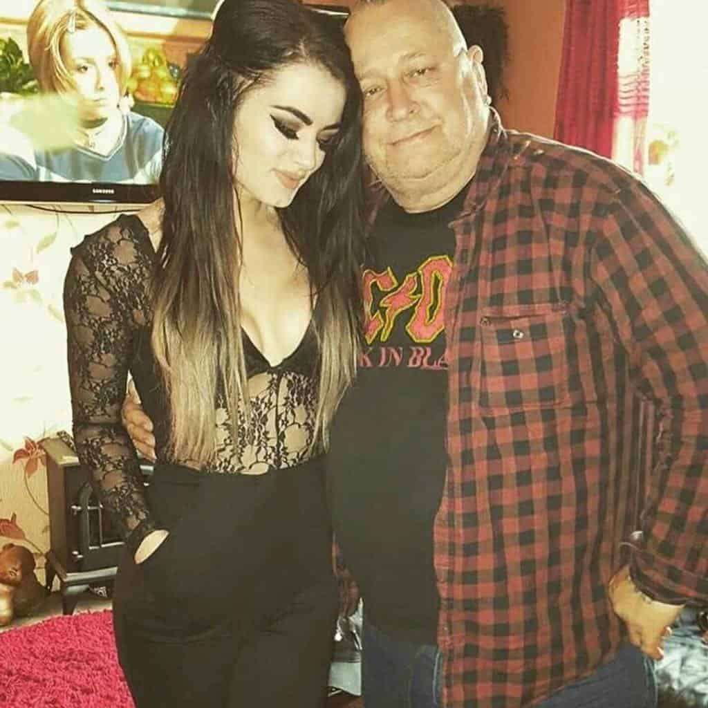 Paige with her Dad