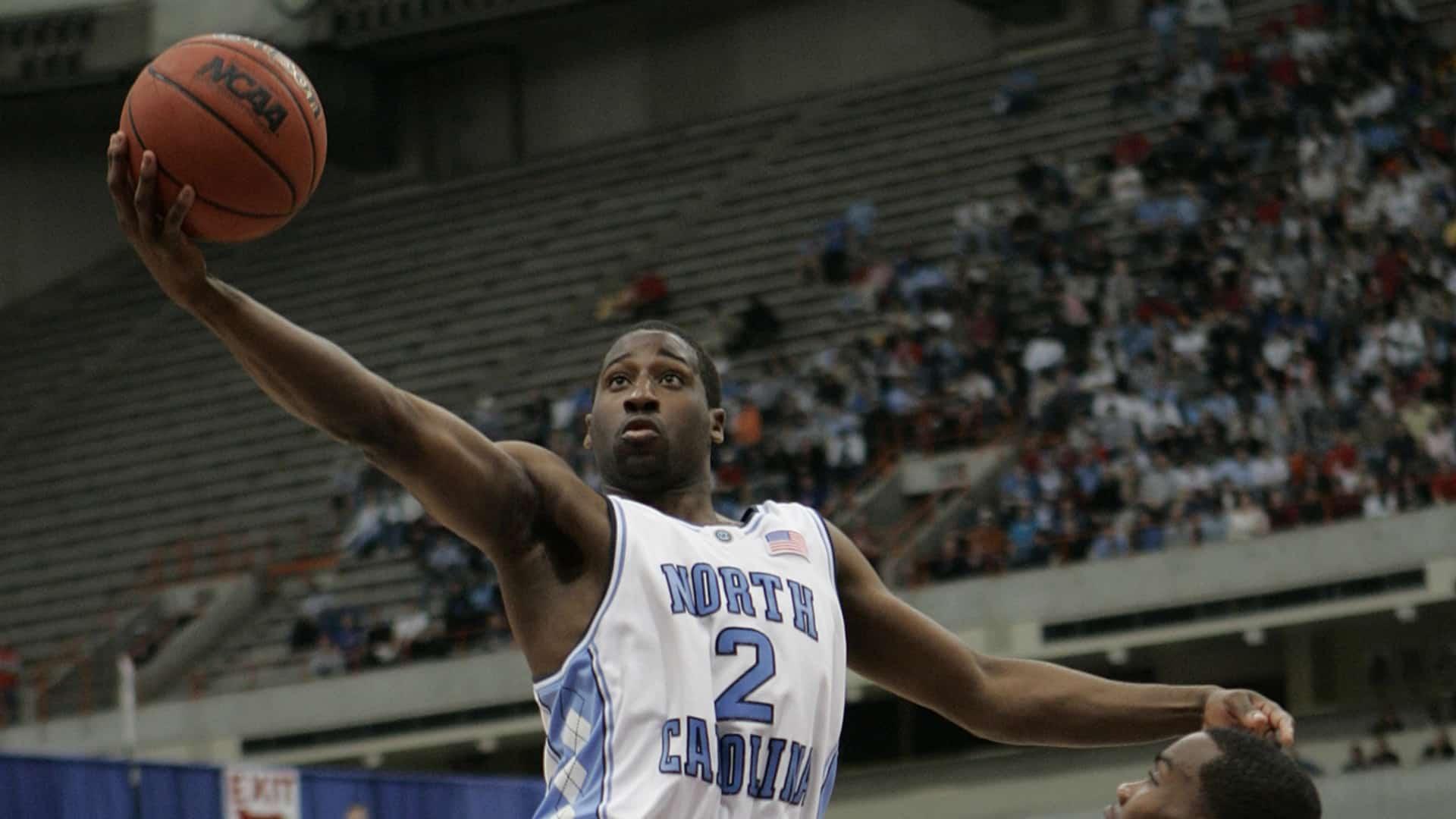 Raymond Felton Playing Basketball At UNC