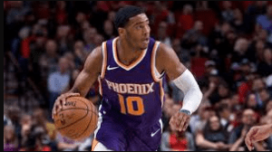 Shaquille Harrison playing for Phoenix Suns