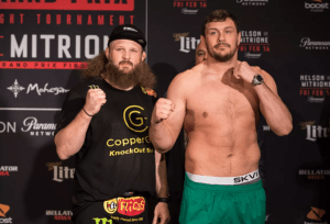 Roy Nelson and Matt Mitrione