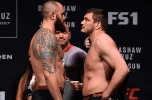 Matt Mitrione VS Travis