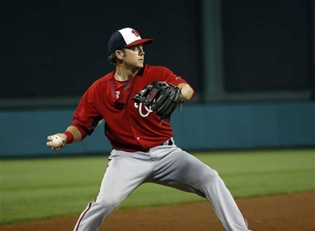 Cutter Dykstra in Washington Nationals.