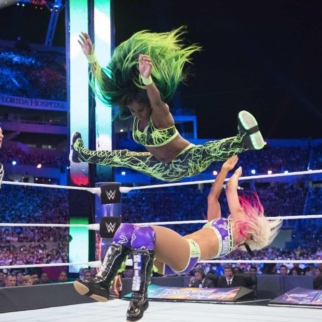 Naomi's main move.