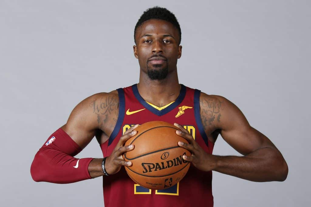 David Nwaba holding basket ball