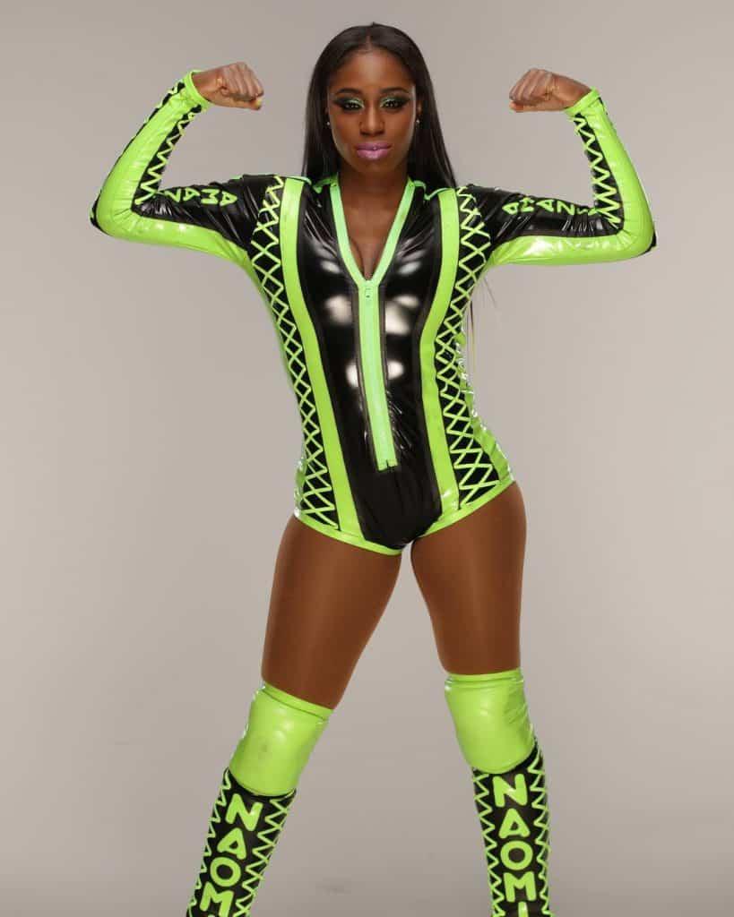 Naomi shining bright like a star