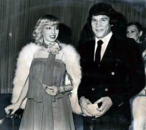 Carlos Monzón with his second wife, Alicia Muñiz