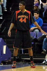 Hill Playing Basketball at FairFax