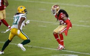 Jason Verrett in action for San Francisco 49ers