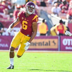 Michael Pittman while playing at USC