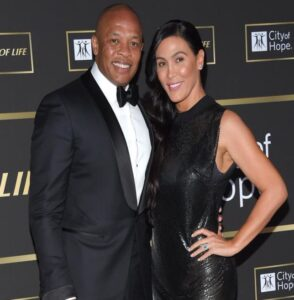 Nicole Young and her ex-husband, Dr. Dre.