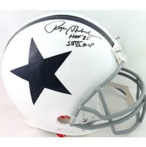 Roger Staubach Signed Helmet
